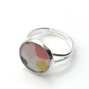 Small Blot Print Ring