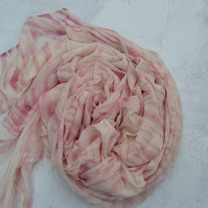 Organic cotton Mull Lac Arashi shibori product image 2 5000x
