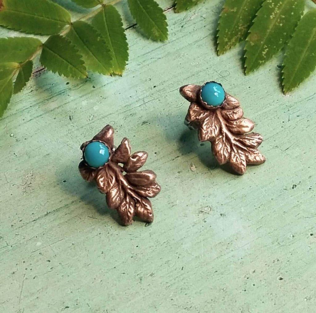 Bronze Turquoise Rowan Earrings 1024x1014 1