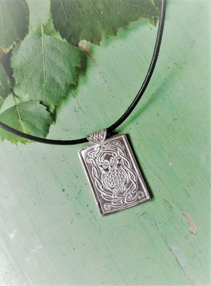 Silver Celtic Owl Pendant 755x1024 1