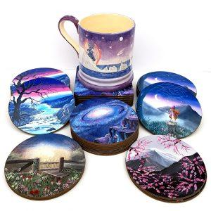 Art Print Coasters 1a